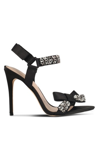 ALDO black Carlah Heeled Sandals 08755SH66B5DF3GS_1