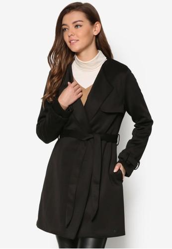 簡約布料風衣esprit旗艦店, 服飾, 外套