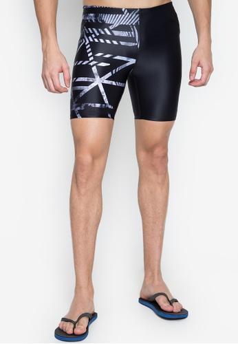 Zoggs Mens Equation Mid Jammer Swim Shorts