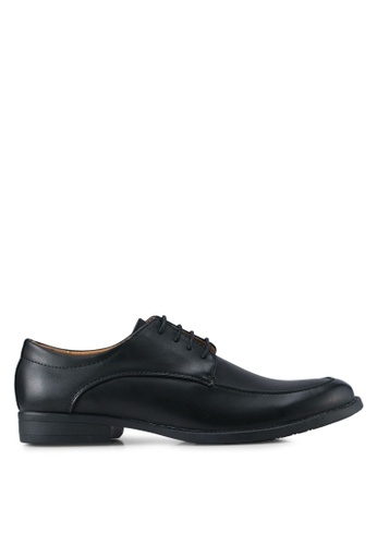 UniqTee black Lace Up Formal Shoes UN097SH0SYSDMY_1