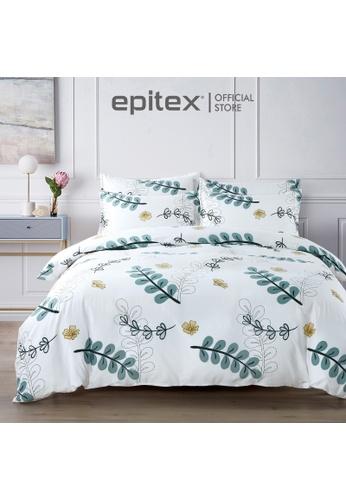 Epitex multi Epitex Silkysoft 900TC SP9052-3 Fitted Sheet Set (w/o quilt cover) - Bedsheet - Bedding Set BD576HL89FBAEDGS_1