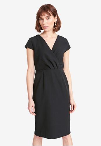 LC Waikiki black Double Breasted Dress 5AA60AA0DBE765GS_1