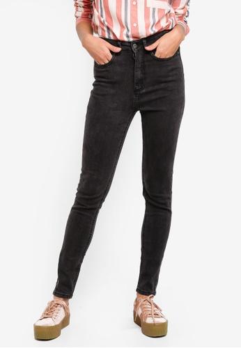 Factorie black The High Rise Skinny Jeans FA1BDAA79A06B3GS_1