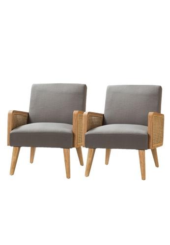 Chic Establishment grey Olean Lounge Chair 97A10HL279C6B5GS_1