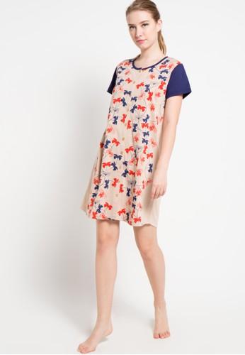 Puppy navy Dress Print Styles Flower PU643AA85XFMID_1