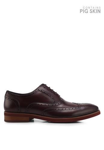 Dune London red Coloured Sole Brogues DU588SH0SZS8MY_1