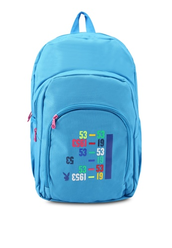 Playboy blue Playboy Backpack PL371AC0SJZ8MY_1