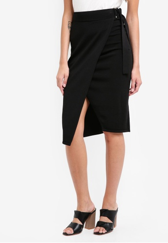 River Island black Sassy Skirt C907EAA62F5460GS_1