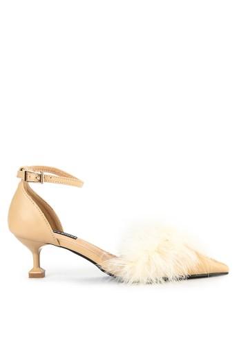 Mandy's beige Mandys Saccia Apricot Heels 2E3F6SH1242EE6GS_1