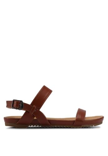 Mimosa brown Strap Sandals F7A56SHC0FF817GS_1