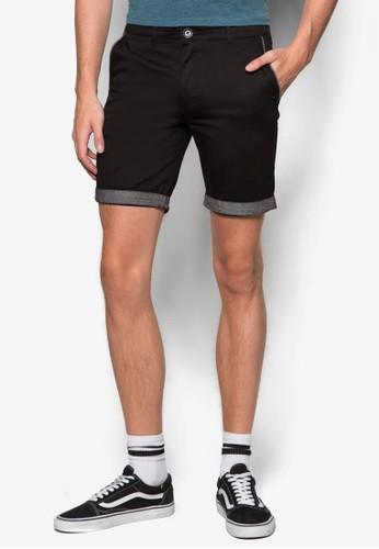Brunswick 拼色反折休esprit hk閒短褲, 服飾, 服飾