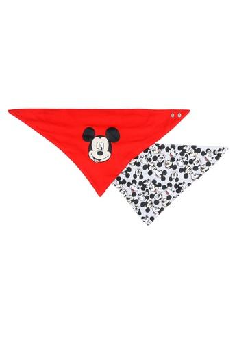 LC Waikiki red 2-pack Baby Boy's Mickey Mouse Bib 52CC8KC4965598GS_1