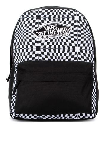 ec878c2ff455 Shop VANS Realm Backpack Online on ZALORA Philippines