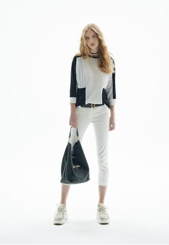 iROO white Skinny Trousers 6593EAA46D394FGS_1