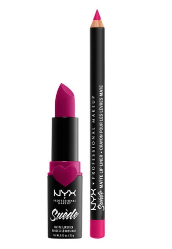 NYX Professional Makeup pink NYX Professional Makeup Lippie Duo Clinger 4BE6CBE8F60B71GS_1