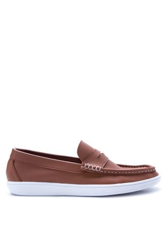 H2Ocean brown Finnegan Loafers & Moccasins H2527SH16UNFPH_1