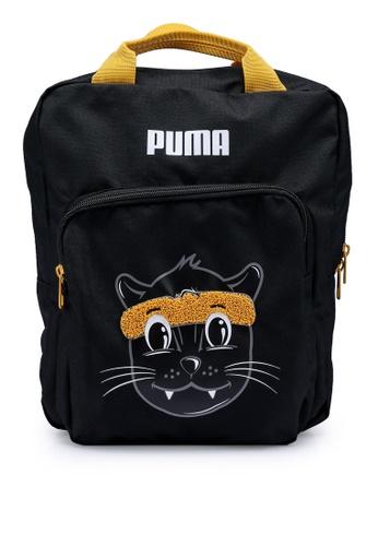 PUMA black Animals Youth Backpack B1752KCE395284GS_1