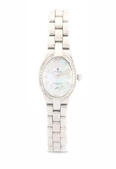 Ladies' Quartz Analog Regular Oval Watch