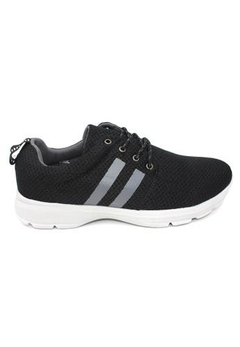 midzone black EXO SCORPION Extra Size Sneaker 14415SH482BEA6GS_1