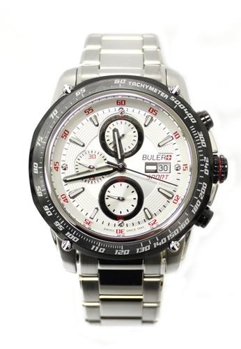 Buler silver Buler Sport Watch - Silver - Gents - Date - 6H BU689AC2VG1THK_1