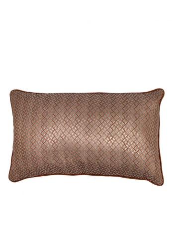 Maison Curio Picotin Long Cushion Coral ADFB4HL2C9BDE1GS_1