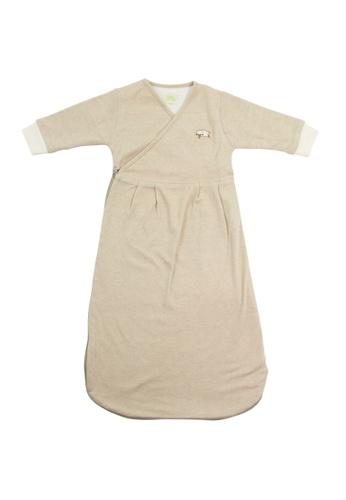 Bebeganic green 100% Natural Cotton Sleeping Bag 19FA3KC3AD1A0DGS_1