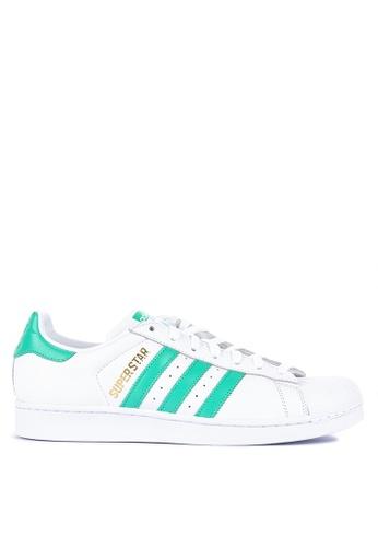 adidas white adidas originals superstar 8B5FESH0C21E86GS_1