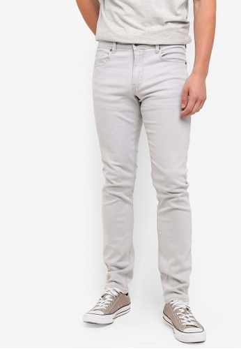 Cotton On 灰色 Slim Fit Jeans D36F6AAC03464CGS_1