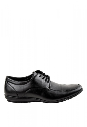 Otto black Lace-up Shoes D927ESH487E42BGS_1
