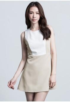 Glitzy Glam Paneled Dress