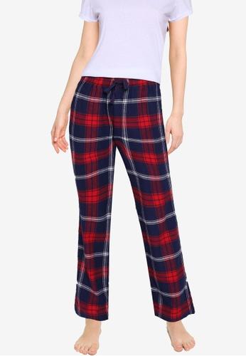 Old Navy multi Matching Printed Flannel Pyjama Pants 14B20AA014A8CDGS_1