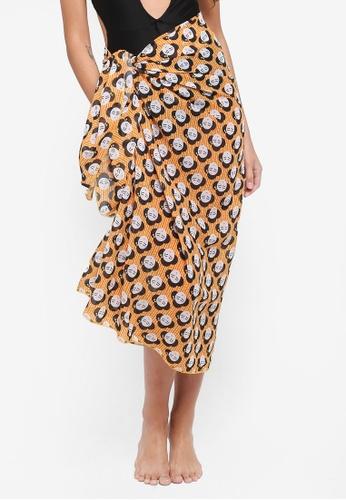 Malibu Beachwear multi Geisha Sun Wrap FB0F2US369EFFAGS_1