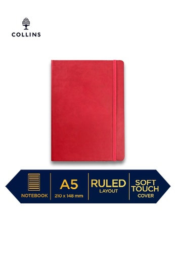 Collins red Collins Legacy  ─  NotebookA5 Ruled Red B721DHL143AEB4GS_1