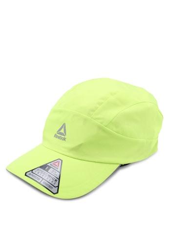 Reebok yellow and green Running Run Perfect Cap 88350AC2F3FAA9GS_1