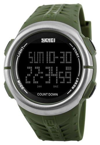 Digitec green Skmei - Jam Tangan Pria - Green - Resin Strap - 1286-A 9F064AC3E290E8GS_1