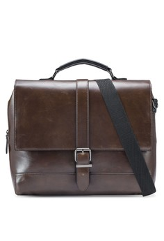 Buckle Satchel