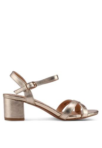 Carlton London gold Heeled Sandal 1CB4DSH7F2B9BDGS_1