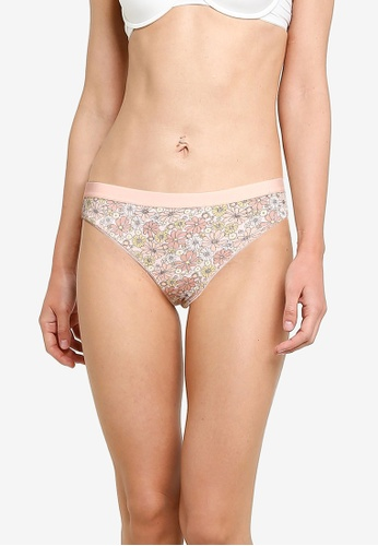 Cotton On Body pink Organic Cotton G String Brief 4A1C8US383D2D7GS_1