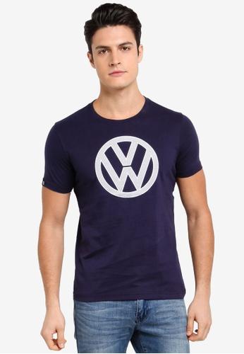 Volkswagen navy Volkswagen Graphic Tee 8080DAA03441ACGS_1