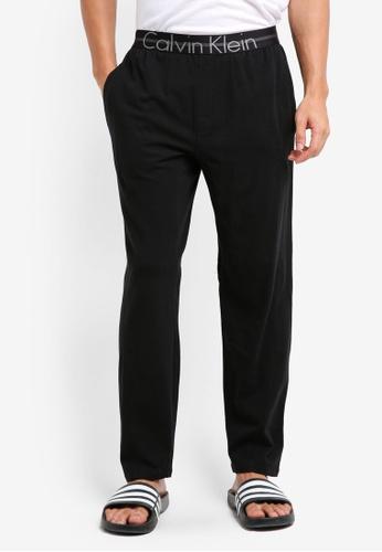 Calvin Klein black Focused Fit Lounge Sleep Pants - Calvin Klein Underwear 866CEUS713275EGS_1