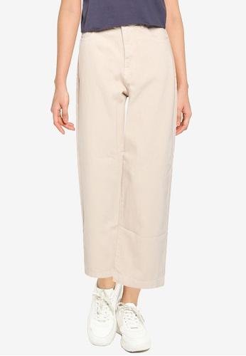 Supre beige Wide Leg Jeans 661F4AA9DD8756GS_1