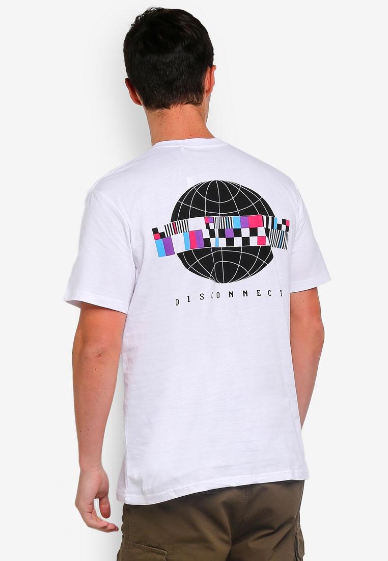 Short Graphic Test T Sleeve Factorie Pattern White Shirt nHwFH8Prxq
