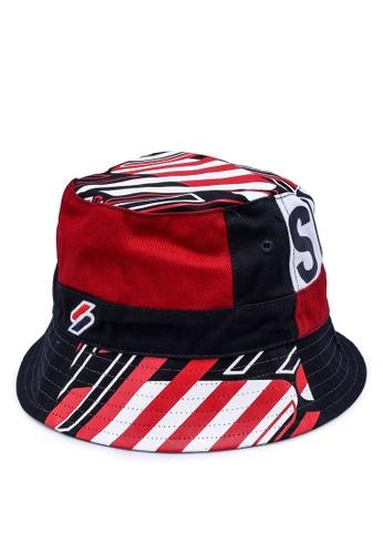 Superdry multi Sport Style Bucket Hat 7485AAC4A7B0E5GS_1