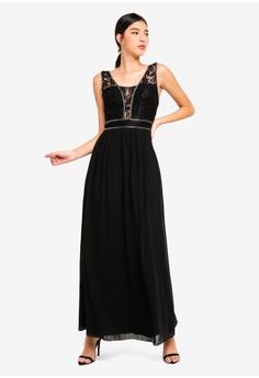 66% OFF Little Mistress Black Lace Maxi Dress S  154.90 NOW S  52.90 Sizes  6 14 6a091f522