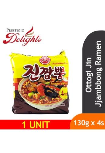 Prestigio Delights black Ottogi Jin Jjambbong Ramen 130g x 4pkt CF00AESB706821GS_1