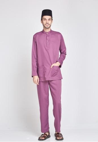 MOTHER & CHILD purple Baju Melayu Sultan Exclusive AE7B0AA59C9283GS_1