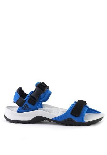 adidas blue and multi adidas cyprex ultra sandal ii F65B4SH5B9BF64GS_1