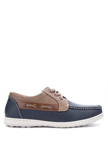 H2Ocean blue Spencer Boat Shoes H2527SH0IWEMPH_1