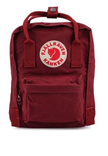Fjallraven Kanken red Kanken Mini Backpack 495D7ACC148D82GS_1