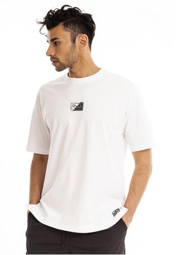RYZ 白色 RYZ 男子短袖T恤 时尚简约 迷你LOGO 短袖衫男装 白 4A2DCAAD176519GS_1